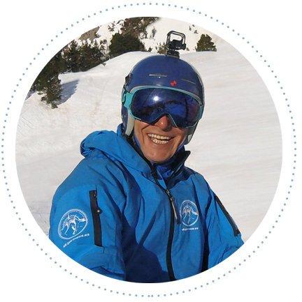 Javier Ródenas, clases esquí baqueira