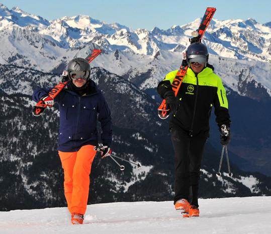 ski pirineos, clases esquí baqueira